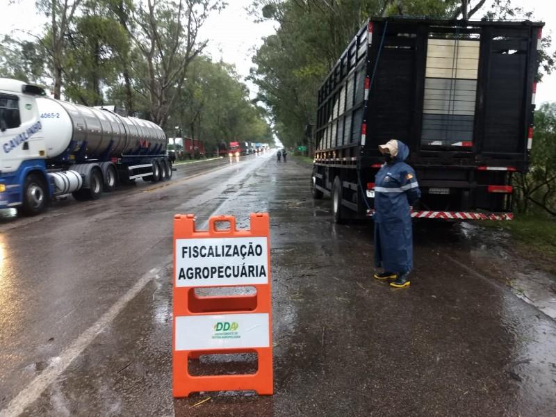 Projeto Piloto do Programa Sentinela já em operaçãona fronteira entre Chuí e Dom Pedrito